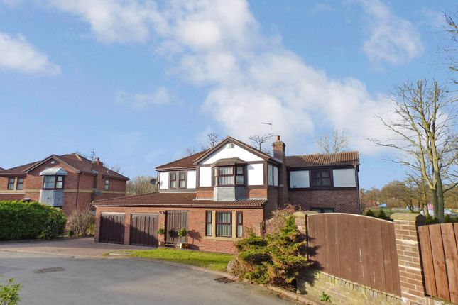 Thumbnail Detached house for sale in The Hollow, Ashington