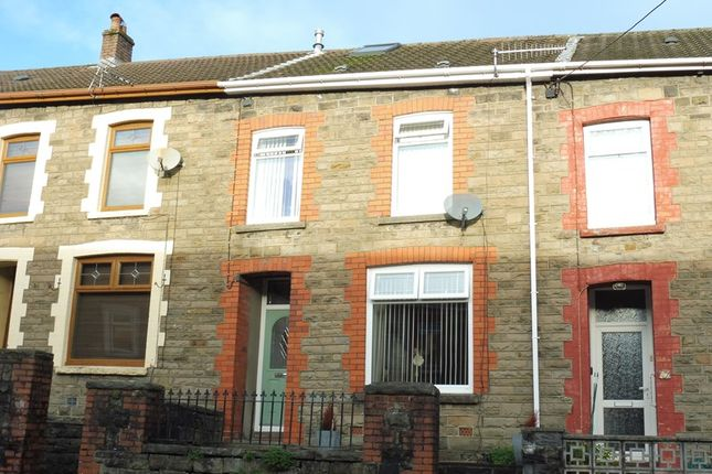 Thumbnail Terraced house for sale in Cwmaman Road, Godreaman, Aberdare