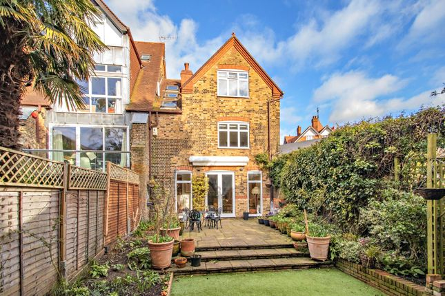 Thumbnail End terrace house for sale in North Road, Highgate Village, London