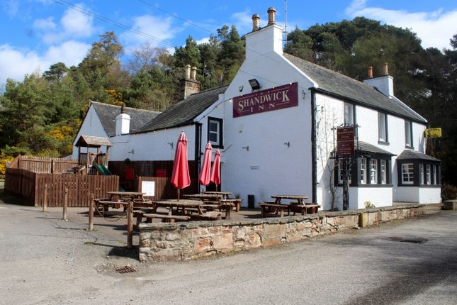 Thumbnail Leisure/hospitality for sale in Leasehold - Shandwick Inn, Kildary, Invergordon