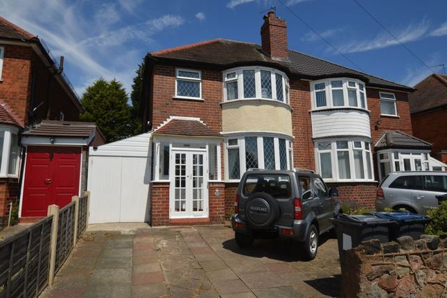 Thumbnail Semi-detached house for sale in Springthorpe Road, Erdington, Birmingham