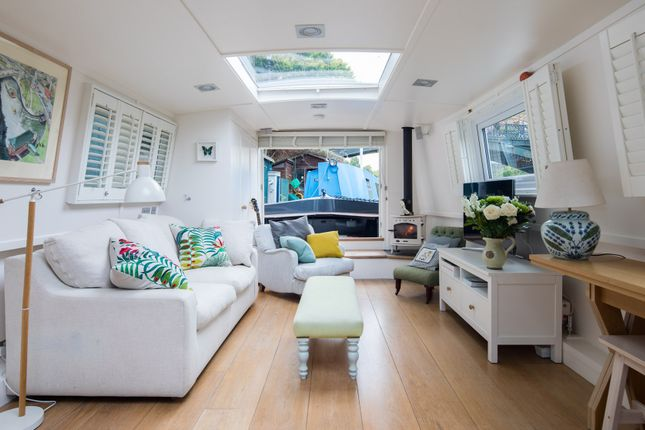 Thumbnail Houseboat to rent in Prince Albert Road, London