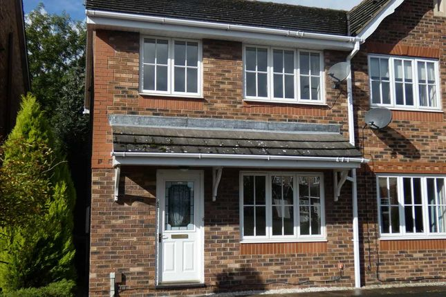 Thumbnail Semi-detached house for sale in Orchid Rise, Scunthorpe