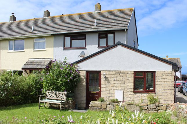Thumbnail End terrace house for sale in Parc An Yorth, Trewellard