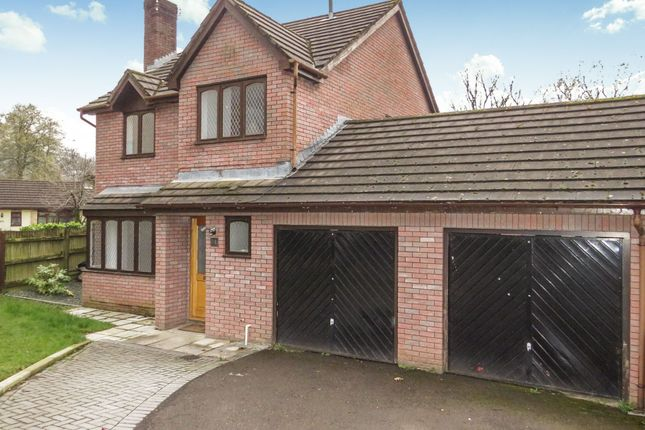 Thumbnail Detached house for sale in River Glade, Gwaelod-Y-Garth, Cardiff