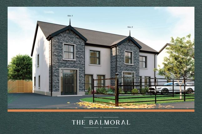 Thumbnail Semi-detached house for sale in Greenacres Lane, Halftown Road, Lisburn