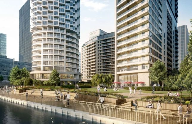 Thumbnail Flat for sale in 10 Park Drive, London, Greater London