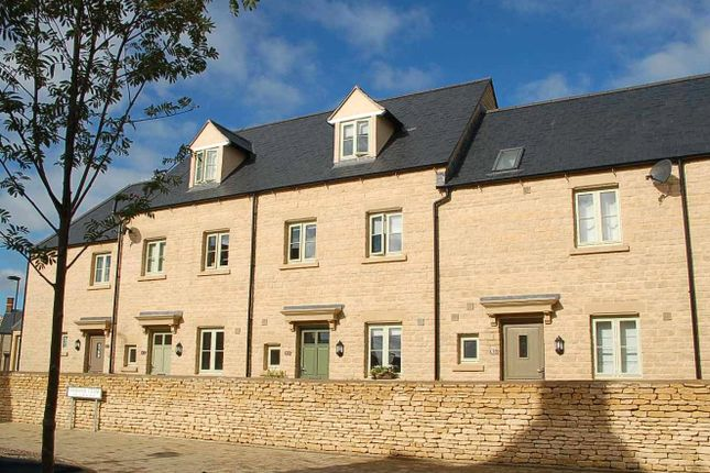 Thumbnail Terraced house to rent in Ormand Close, Cirencester