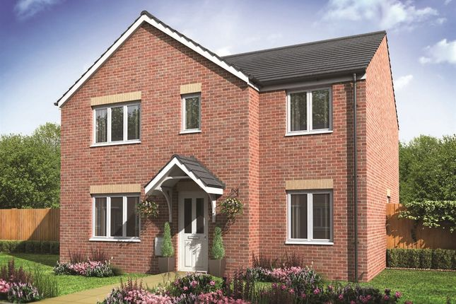 "Thumbnail Detached house for sale in ""The Corfe"" at Tachbrook Road, Whitnash, Leamington Spa"