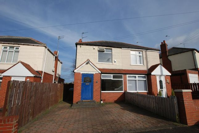 Thumbnail Semi-detached house to rent in Fallowfield Avenue, Newcastle Upon Tyne