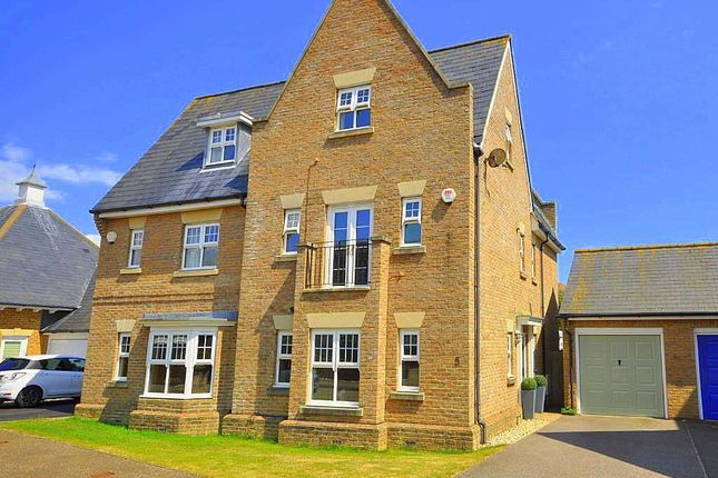 Thumbnail Semi-detached house for sale in Johnston Place, Sovereign Harbour, Eastbourne