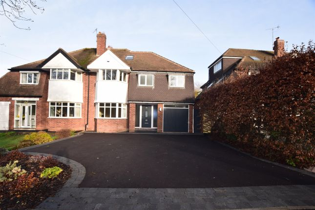 Thumbnail Semi-detached house for sale in Kingslea Road, Solihull