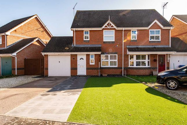 Thumbnail Semi-detached house to rent in Eclipse Drive, Sittingbourne