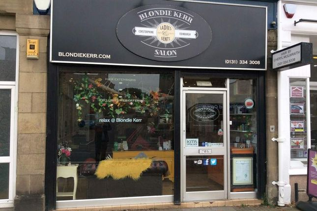 Thumbnail Retail premises for sale in St. Johns Road, Corstorphine, Edinburgh