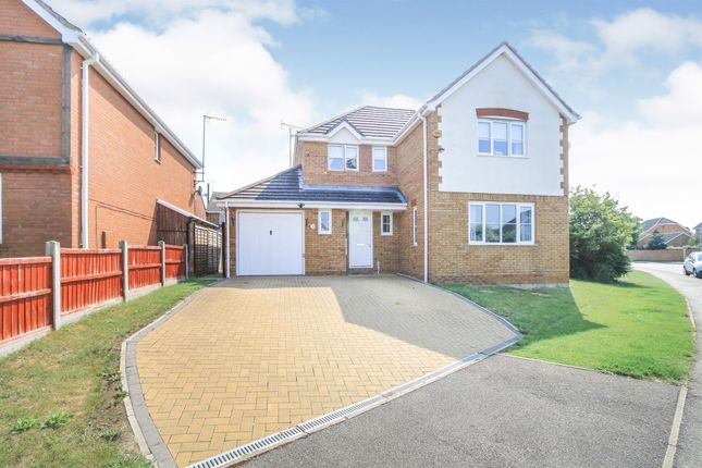 Thumbnail Detached house for sale in Windsor Drive, Thrapston, Kettering