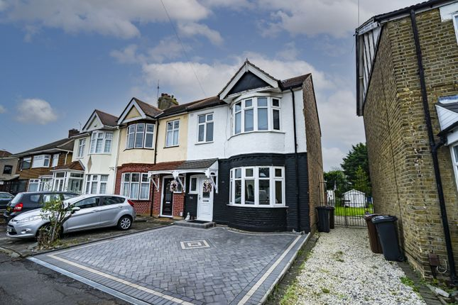 Thumbnail Semi-detached house for sale in Willow Road, Romford