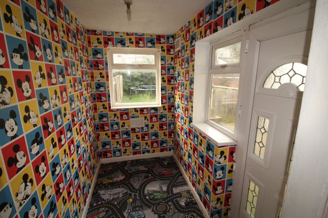 Rear Porch of Belmont Street, Rotherham, South Yorkshire S61