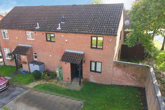 Thumbnail Semi-detached house for sale in Nicholas Mead, Great Linford, Milton Keynes
