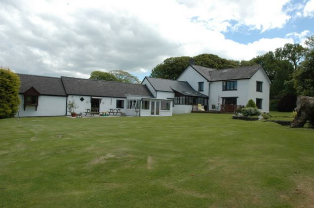 Thumbnail Detached house for sale in Blaenffos, Boncath, Pembrokeshire