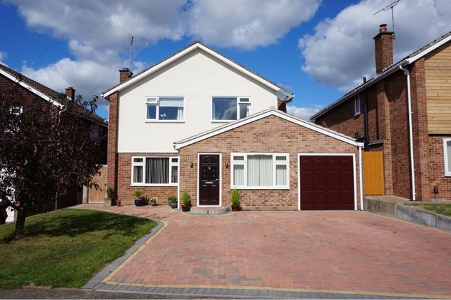 Thumbnail Detached house for sale in Borrowdale Drive, Leamington Spa