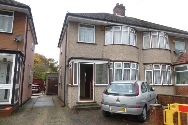 Thumbnail Semi-detached house to rent in Carfax Road, Hayes