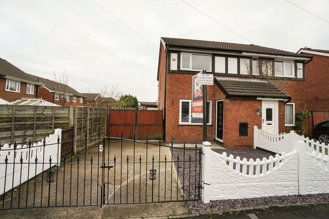 Thumbnail Semi-detached house to rent in St. Elizabeths Road, Aspull, Wigan