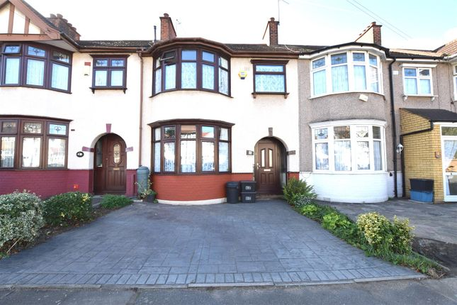 Thumbnail Terraced house for sale in Flora Gardens, Chadwell Heath, Romford
