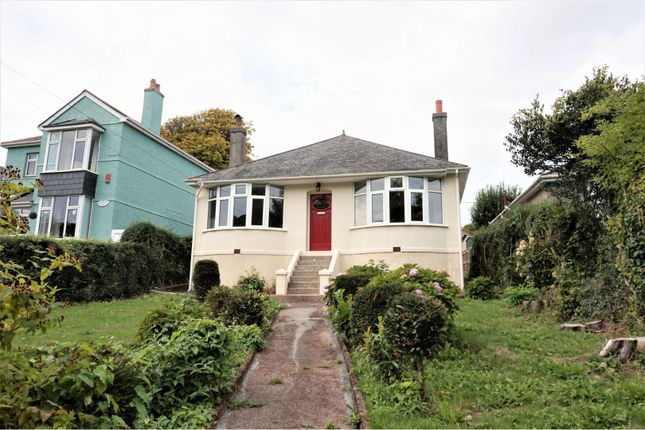 Thumbnail Detached bungalow for sale in Hooe Road, Plymouth