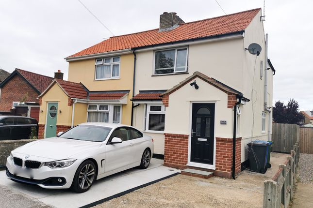 Thumbnail Semi-detached house to rent in Kimberley Road, Lowestoft
