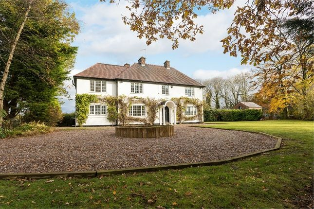 Thumbnail Detached house for sale in Northwich Road, Antrobus, Cheshire