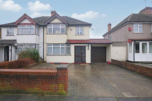 Thumbnail Semi-detached house for sale in Long Lane, Hillingdon, Middlesex