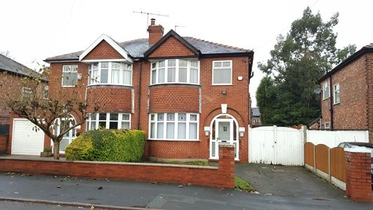 Thumbnail Semi-detached house to rent in Alexandra Road South, Manchester
