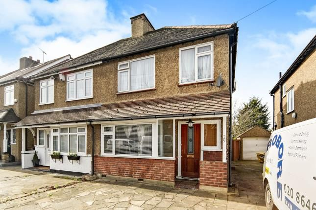 Thumbnail Semi-detached house for sale in Sunningdale Road, Cheam, Sutton