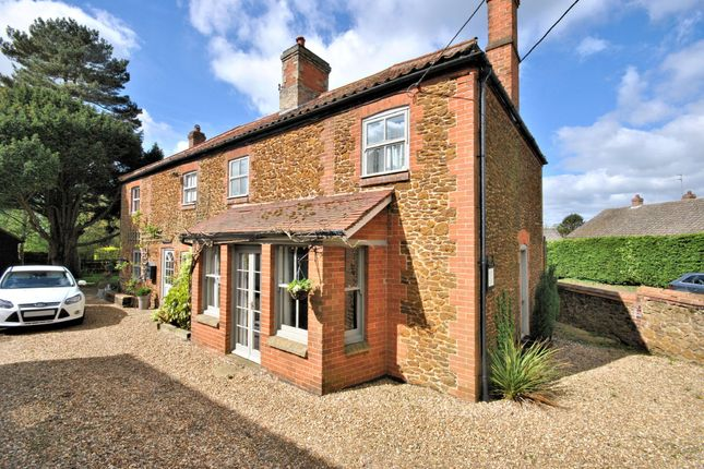 Thumbnail Detached house for sale in Setch Road, Blackborough End, King's Lynn