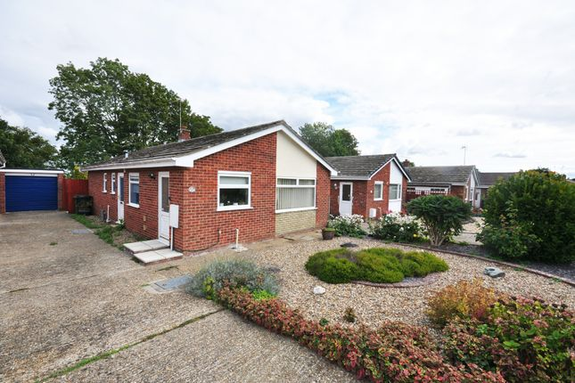 Thumbnail Detached bungalow for sale in Hose Avenue, Roydon, Diss