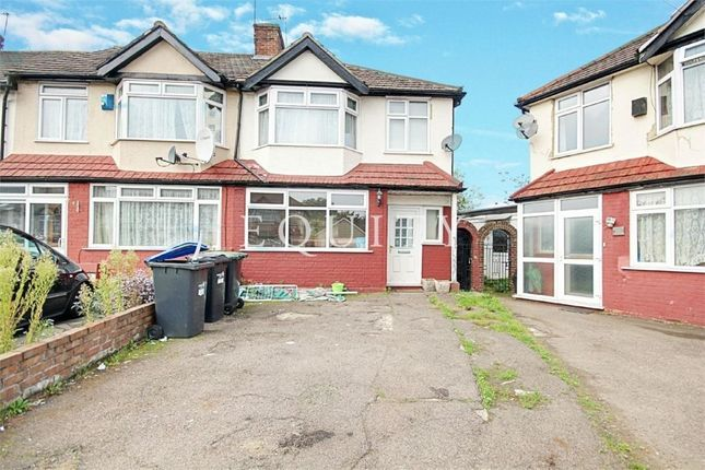 Thumbnail End terrace house for sale in Orchardleigh Avenue, Enfield