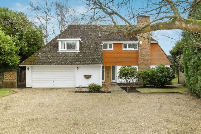 Thumbnail Detached house for sale in Hook Hill Park, Hook Heath, Woking