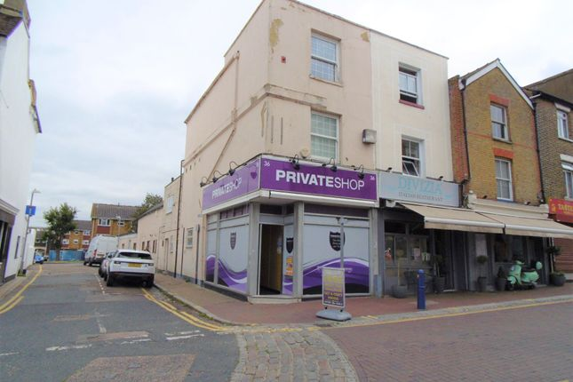 Thumbnail Retail premises for sale in Bull Yard, Queen Street, Gravesend