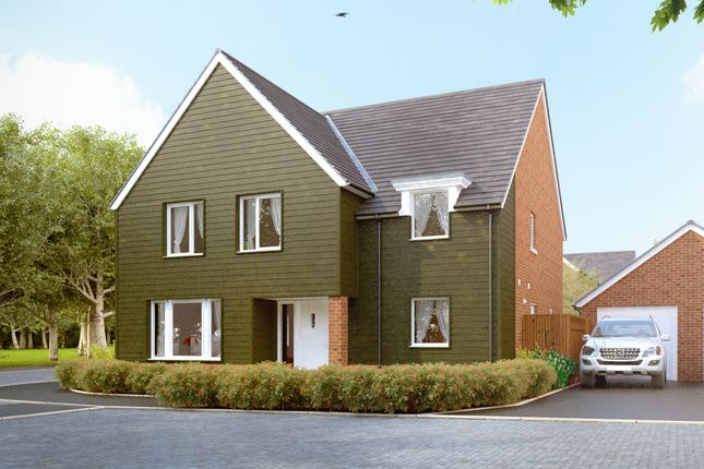 "Thumbnail Detached house for sale in ""The Downton"" at Amesbury Road, Longhedge, Salisbury"