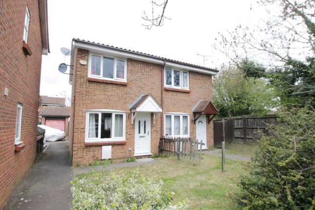 Thumbnail End terrace house to rent in Raywood Close, Harlington, Hayes