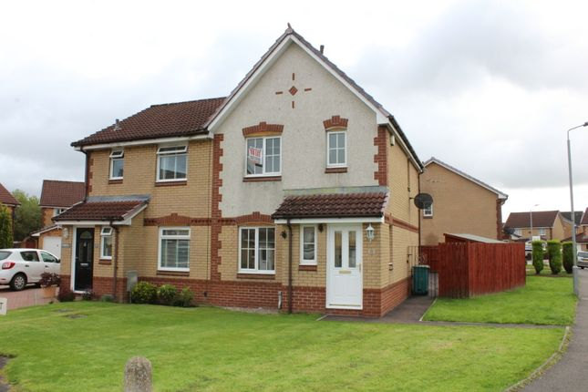 Thumbnail Semi-detached house to rent in Elm Drive, Chapelhall, North Lanarkshire