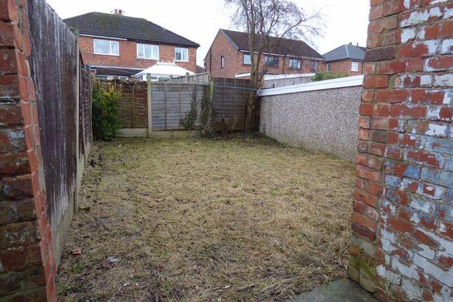 Rear Garden of Spendmore Lane, Coppull PR7