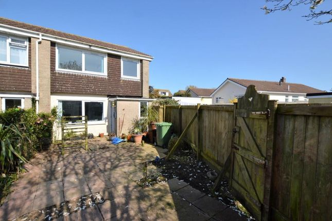 Thumbnail End terrace house for sale in Forbes Close, Newlyn, Penzance, Cornwall