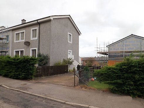 End terrace house for sale in Ralston Road, Campbeltown