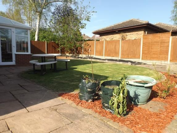 Garden of Chater Close, Leicester, Leicestershire LE5