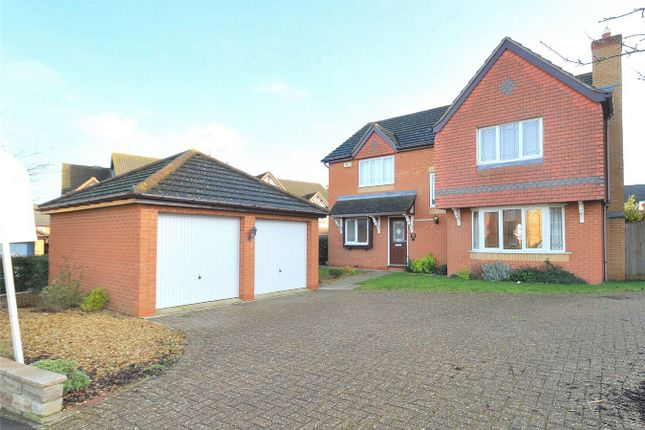 Thumbnail Detached house for sale in Christie Drive, Hinchingbrooke, Huntingdon, Cambridgeshire