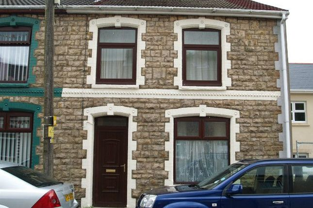 Thumbnail End terrace house to rent in Mount Pleasant Road, Ebbw Vale, Blaenau Gwent