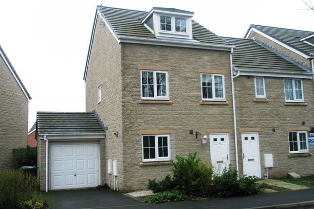 Thumbnail Town house to rent in Meadowfield, Burnhope