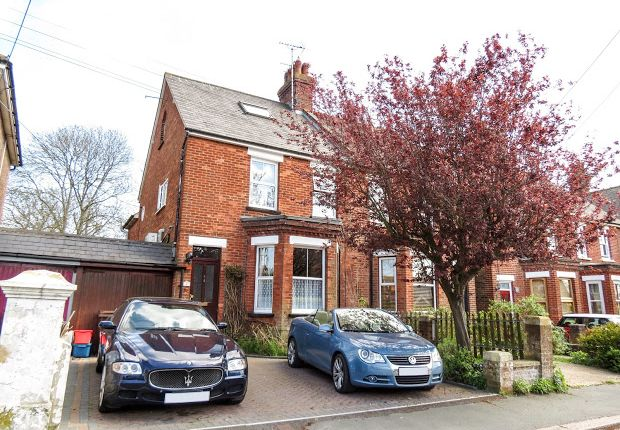 Thumbnail Semi-detached house for sale in Summerheath Road, Hailsham