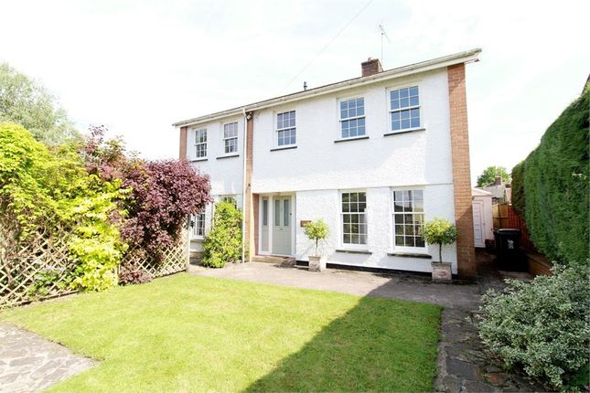 Thumbnail Detached house for sale in Usk Road, Caerleon, Newport